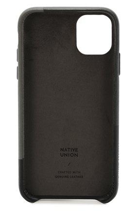 Мужской чехол для iphone 11 NATIVE UNION черного цвета, арт. CMARQ-BLK-NP19M | Фото 2