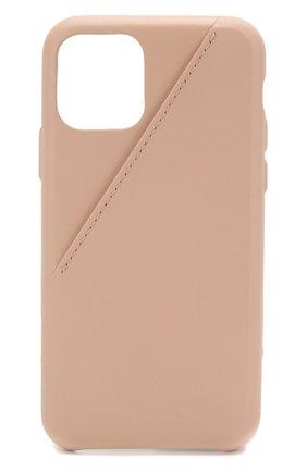 Мужской чехол для iphone 11 pro NATIVE UNION бежевого цвета, арт. CCARD-NUD-NP19S | Фото 1