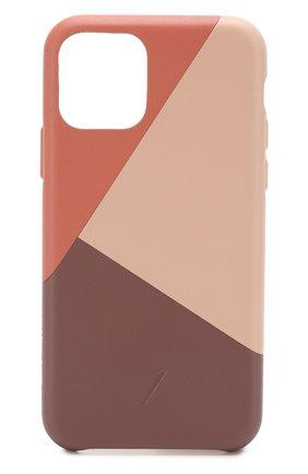 Мужской чехол для iphone 11 pro NATIVE UNION розового цвета, арт. CMARQ-ROS-NP19S | Фото 1