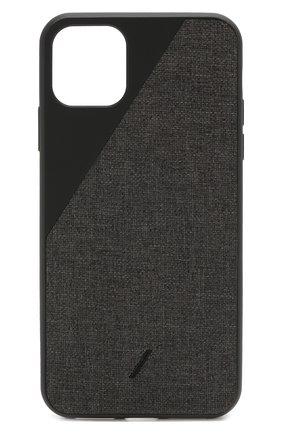 Мужской чехол для iphone 11 pro max NATIVE UNION черного цвета, арт. CCAV-BLK-NP19L | Фото 1