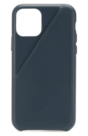 Мужской чехол для iphone 11 pro NATIVE UNION синего цвета, арт. CCARD-IND-NP19S | Фото 1