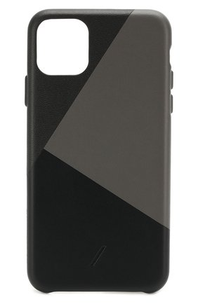 Мужской чехол для iphone 11 pro max NATIVE UNION черного цвета, арт. CMARQ-BLK-NP19L | Фото 1