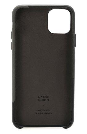 Мужской чехол для iphone 11 pro max NATIVE UNION черного цвета, арт. CMARQ-BLK-NP19L | Фото 2