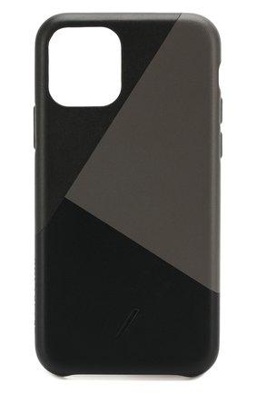 Мужской чехол для iphone 11 pro NATIVE UNION черного цвета, арт. CMARQ-BLK-NP19S | Фото 1