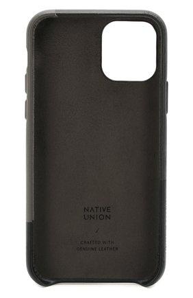 Мужской чехол для iphone 11 pro NATIVE UNION черного цвета, арт. CMARQ-BLK-NP19S | Фото 2
