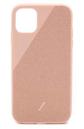 Мужской чехол для iphone 11 NATIVE UNION розового цвета, арт. CCAV-ROS-NP19M | Фото 1