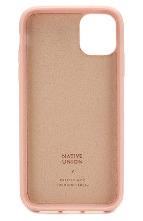 Мужской чехол для iphone 11 NATIVE UNION розового цвета, арт. CCAV-ROS-NP19M | Фото 2
