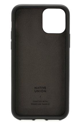 Мужской чехол для iphone 11 pro NATIVE UNION черного цвета, арт. CCAV-BLK-NP19S | Фото 2