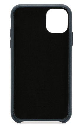 Мужской чехол для iphone 11 NATIVE UNION синего цвета, арт. CCARD-IND-NP19M | Фото 2
