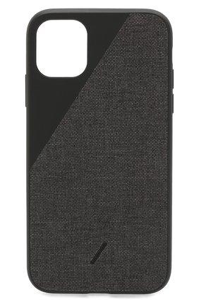 Мужской чехол для iphone 11 NATIVE UNION черного цвета, арт. CCAV-BLK-NP19M | Фото 1