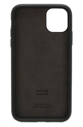 Мужской чехол для iphone 11 NATIVE UNION черного цвета, арт. CCAV-BLK-NP19M | Фото 2