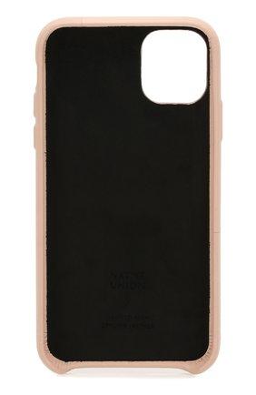 Мужской чехол для iphone 11 NATIVE UNION бежевого цвета, арт. CCARD-NUD-NP19M | Фото 2