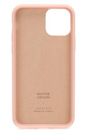 Мужской чехол для iphone 11 pro NATIVE UNION розового цвета, арт. CCAV-ROS-NP19S | Фото 2