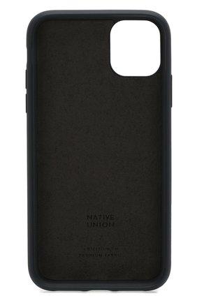 Мужской чехол для iphone 11 NATIVE UNION синего цвета, арт. CCAV-IND-NP19M | Фото 2