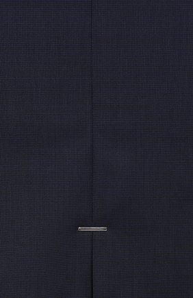 Женская шерстяная юбка BOSS темно-синего цвета, арт. 50414389 | Фото 5