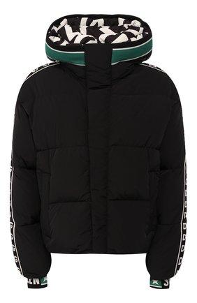Женский пуховая куртка DOLCE & GABBANA черного цвета, арт. F9G29T/FUM8T | Фото 1