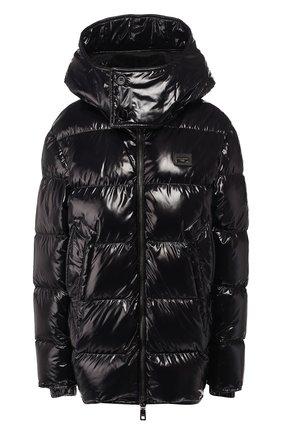 Женский пуховая куртка DOLCE & GABBANA черного цвета, арт. F9F56T/G7TTL | Фото 1
