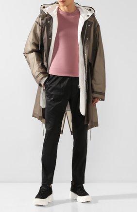 Мужской хлопковые брюки 1017 ALYX 9SM черного цвета, арт. AAMPA0013FA03 | Фото 2
