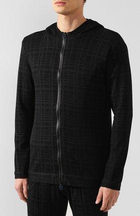 Мужской спортивный костюм из смеси кашемира и хлопка KNT темно-серого цвета, арт. UMT0104K01S76 | Фото 2