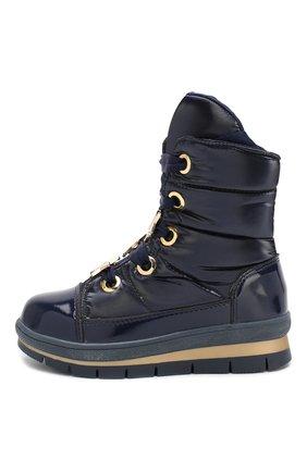 Детские утепленные ботинки JOG DOG синего цвета, арт. 13026R/ZAFFIR0 FLASH/29-35 | Фото 2