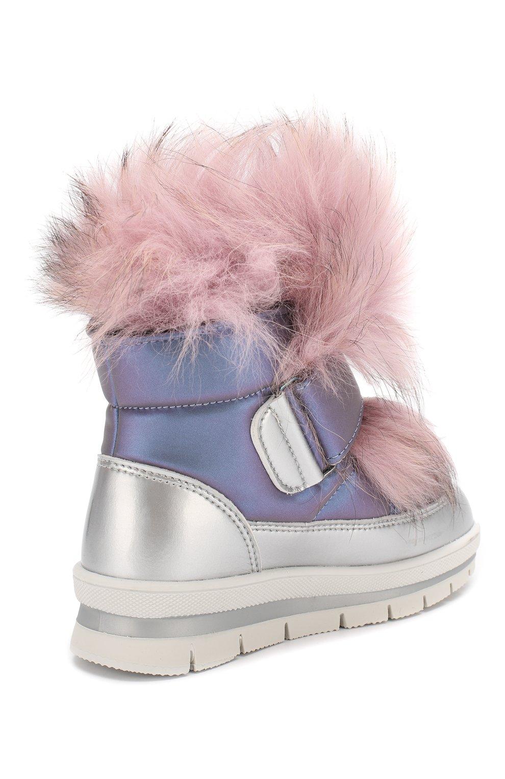 Утепленные ботинки | Фото №3