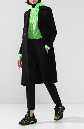 Женские текстильные кроссовки track.2 BALENCIAGA зеленого цвета, арт. 568615/W2GN3 | Фото 2
