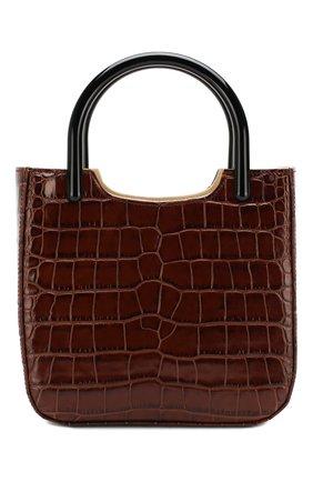 Женская сумка eric BY FAR коричневого цвета, арт. 19FWERITNEDLAR   Фото 1