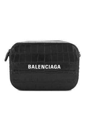 Женская сумка everyday xs BALENCIAGA черного цвета, арт. 552372/1LRCN | Фото 1