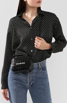 Женская сумка everyday xs BALENCIAGA черного цвета, арт. 552372/1LRCN | Фото 2