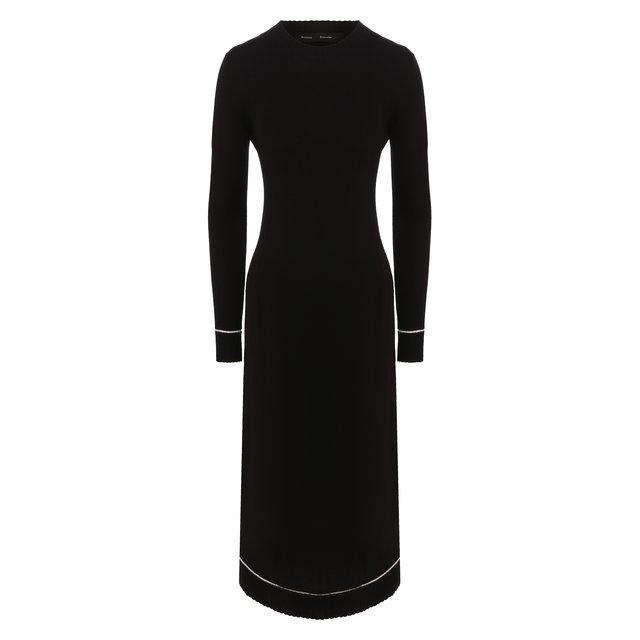 Платье из смеси шерсти и кашемира Proenza Schouler