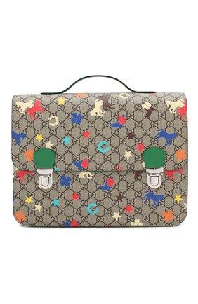 Детская портфель GUCCI разноцветного цвета, арт. 410791/HS0CN | Фото 1
