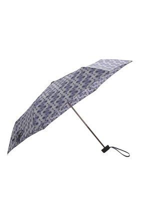Женский складной зонт DOPPLER синего цвета, арт. 722865 GL01 | Фото 2