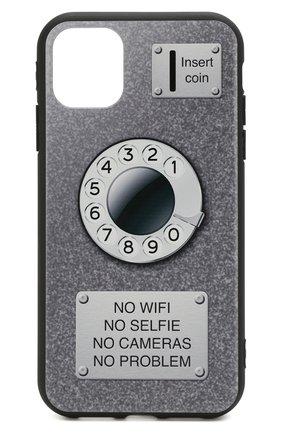 Мужской чехол для iphone 11 MISHRABOO черного цвета, арт. Taksofon 11 | Фото 1