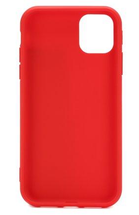 Мужской чехол для iphone 11 MISHRABOO красного цвета, арт. Не замужем 11 | Фото 2