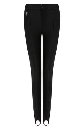 Женские брюки со штрипками ODRI черного цвета, арт. 19211102 | Фото 1