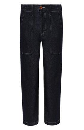 Женские джинсы JEJIA темно-синего цвета, арт. 2739J1P003 190731   Фото 1