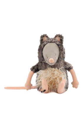 Детского коллекционная игрушка зверский город SIGIKID темно-коричневого цвета, арт. 39169 | Фото 1