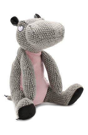 Детского игрушка бегемот SIGIKID серого цвета, арт. 39163 | Фото 1