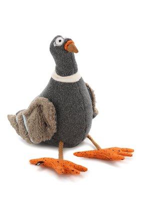 Детского игрушка голубь SIGIKID темно-серого цвета, арт. 38947 | Фото 1