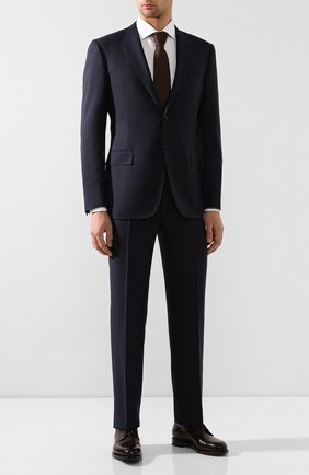 Мужской шерстяной костюм CORNELIANI темно-синего цвета, арт. 847315-9817013/92 Q1 | Фото 1