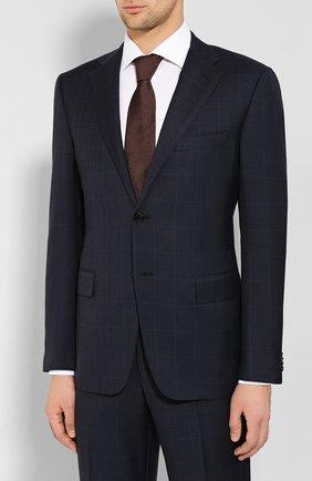 Мужской шерстяной костюм CORNELIANI темно-синего цвета, арт. 847315-9817013/92 Q1 | Фото 2