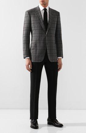 Мужской кашемировый пиджак BRIONI серого цвета, арт. RGH00L/08315/PARLAMENT0 | Фото 2