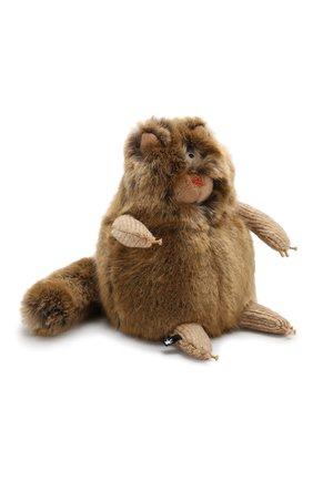 Детского коллекционная игрушка зверский город SIGIKID коричневого цвета, арт. 38456 | Фото 2