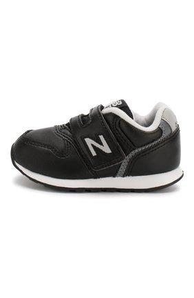 Детские кроссовки 996 NEW BALANCE черного цвета, арт. IZ996LBK/M | Фото 2 (Материал внутренний: Текстиль; Стили: Классический; Кросс-КТ: велькро; Статус проверки: Проверена категория)