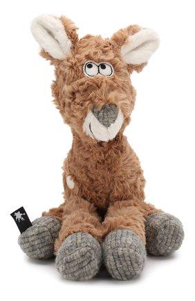 Детского коллекционная игрушка зверский город SIGIKID коричневого цвета, арт. 39155 | Фото 1