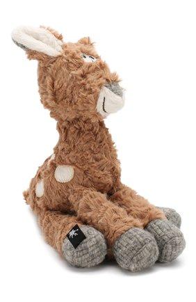 Детского коллекционная игрушка зверский город SIGIKID коричневого цвета, арт. 39155 | Фото 2