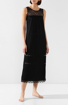 Женская сорочка FREE VOOGUE черного цвета, арт. 29304 | Фото 2