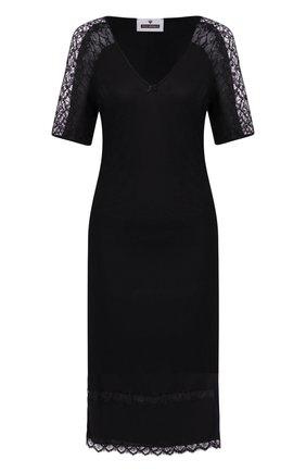 Женская сорочка FREE VOOGUE черного цвета, арт. 29307 | Фото 1