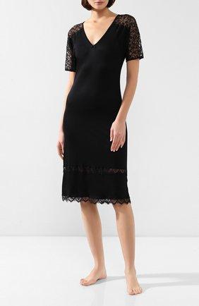 Женская сорочка FREE VOOGUE черного цвета, арт. 29307 | Фото 2