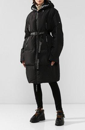 Женский пальто ODRI черного цвета, арт. 19220107 | Фото 2